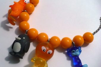 Gumball Machine Toy Charm Necklace