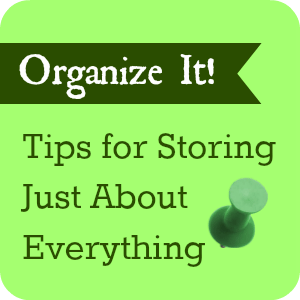 Organiz It! Tips for Storing Just About Everything
