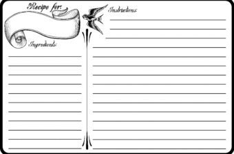 Classic Tattoo Recipe Cards