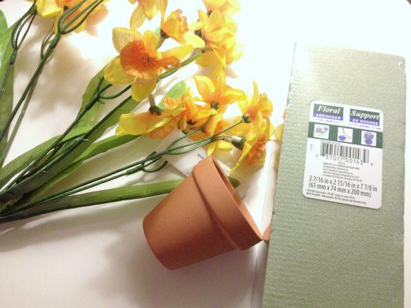 Mini Silk Spring Daffodils For Craft Ideas