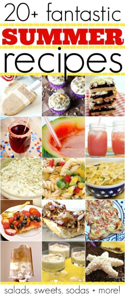 20+ Fantastic Summer Recipes