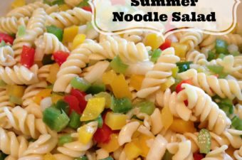 Recipe: Refreshing Summer Noodle Salad