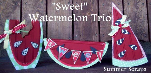 Watermelon Summer Decor