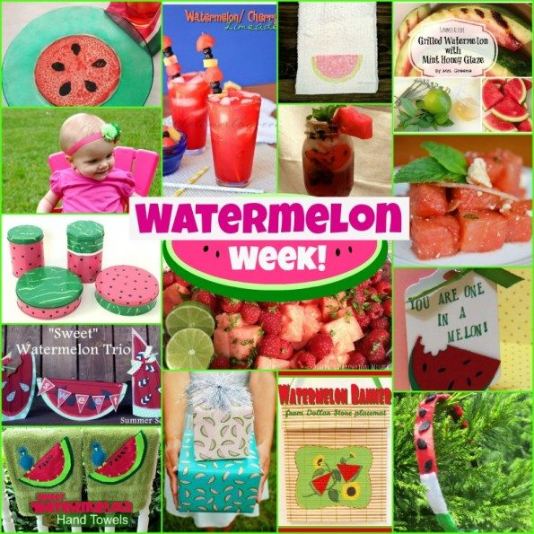 Watermelon Week: 15 watermelon crafts and recipes!
