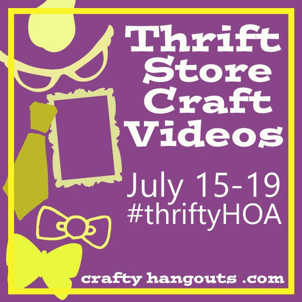 Thrift Shop Week at Crafty Hangouts