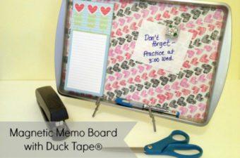 magnetic memo board