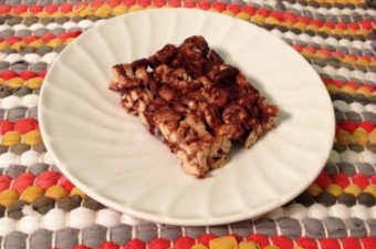 chocolate cranberry cheerios bars 2