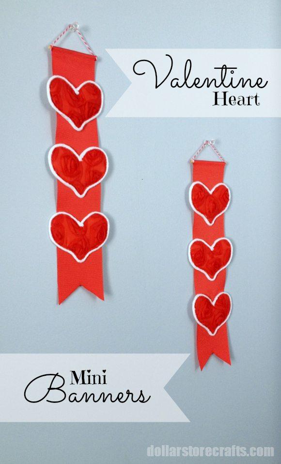 Valentine's Day Mini Banners