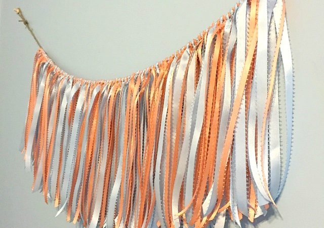 Ribbon Fringe Garland