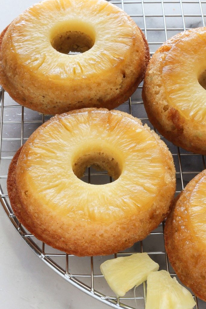 Pineapple Upside-Down Donuts