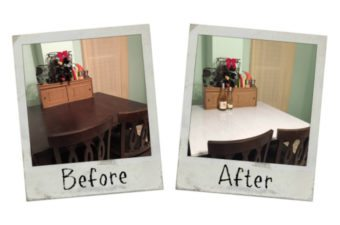 Kitchen Table Island Makeover