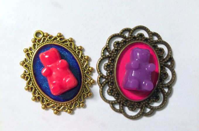 Resin Gummy Bear Jewelry