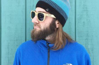 COR Bamboo Wayfarer Sunglasses