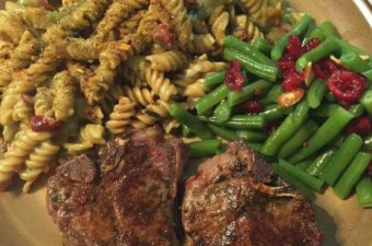 Moroccan Lamb with Lentil Pasta