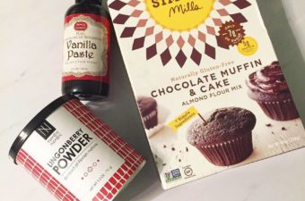 Gluten Free Chocolate Lingonberry Muffins